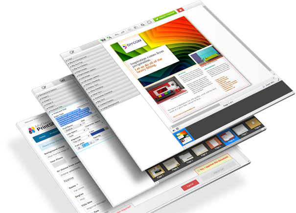web to print storefront edocbuilder screen shots